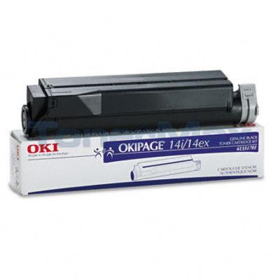 OKIDATA OKIPAGE 14I/14EX TONER BLACK